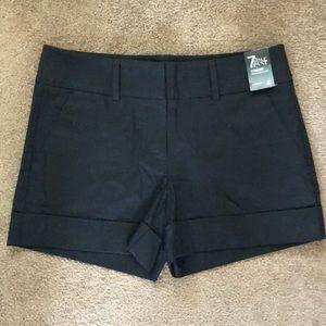NWT NY&C Women's Black Stretch Dress Short